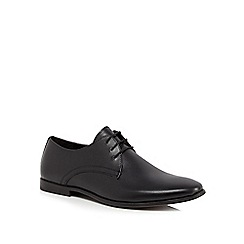 Red Herring - Black leather Derby shoes