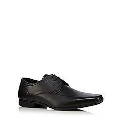 The Collection - Black leather Derby shoes