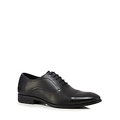 The Collection - Black leather Oxford shoes
