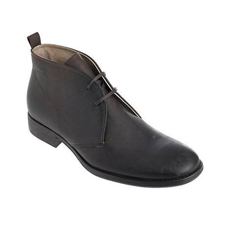 RJR.John Rocha - Designer brown chukka boots