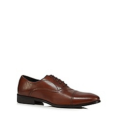 The Collection - Tan leather Oxford shoes