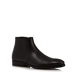 J by Jasper Conran - Black leather ankle boots
