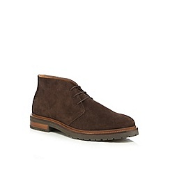 RJR.John Rocha - Dark brown suede chukka boots