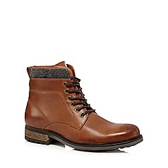 RJR.John Rocha - Brown leather ankle boots