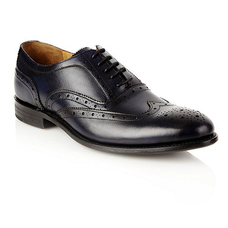 J by Jasper Conran - Designer navy leather brogues
