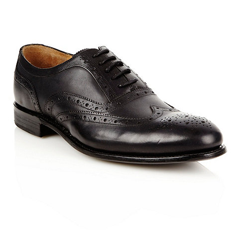 J by Jasper Conran - Designer black leather brogues