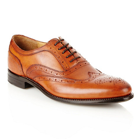 J by Jasper Conran - Designer tan leather brogues