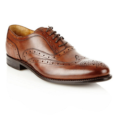 J by Jasper Conran - Designer brown leather brogues