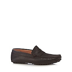 J by Jasper Conran - Brown leather loafers