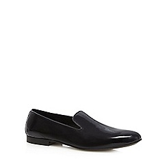 Hammond & Co. by Patrick Grant - Black patent leather slip on shoes