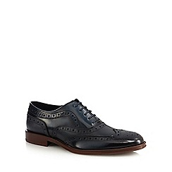 Hammond & Co. by Patrick Grant - Navy leather brogues