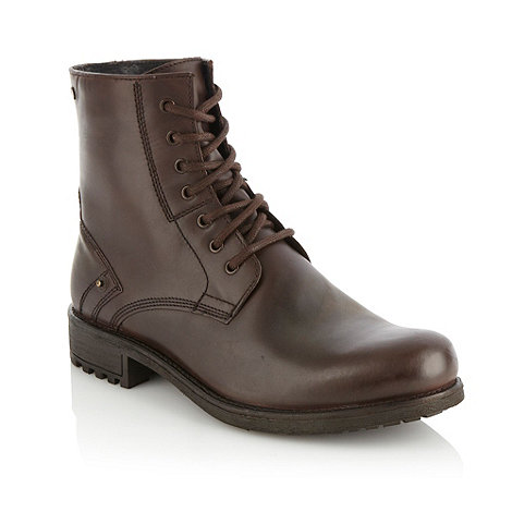 Red Herring - Brown essential leather boots