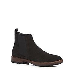 Mantaray - Black suede Chelsea boots