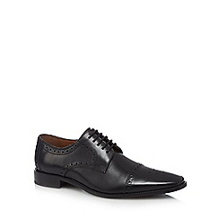 Jeff Banks - Black leather brogues