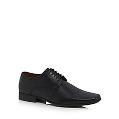 Jeff Banks - Black 'Balmoral' Derby shoes