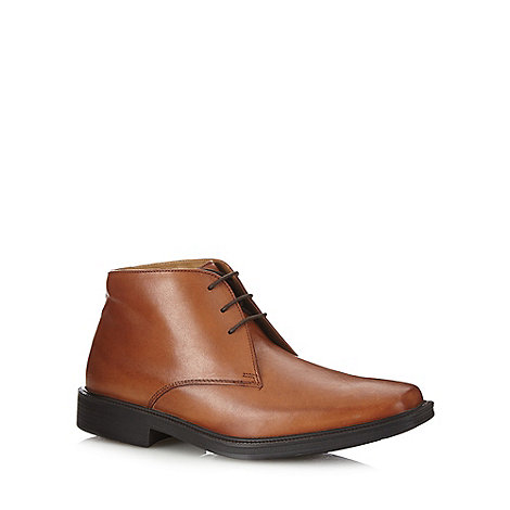 Henley Comfort - Brown +Airsoft+ chisel toed ankle boots