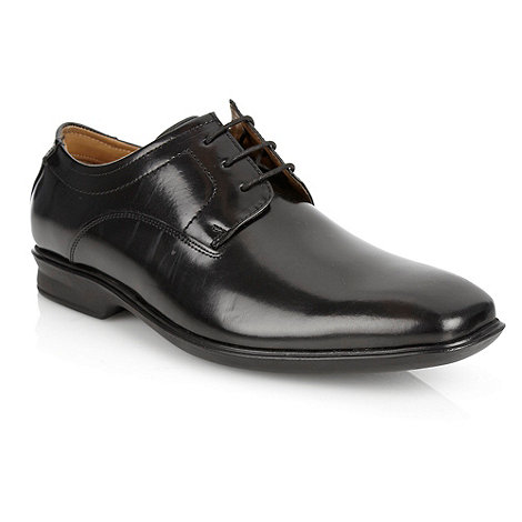 Henley Comfort - Black +Airsoft+ leather tramline shoes