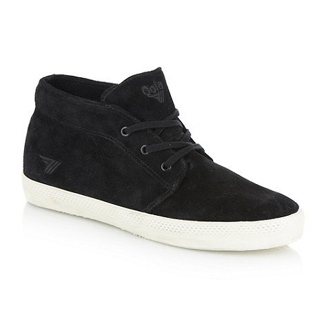 Gola - Black +Arctic+ high top trainers