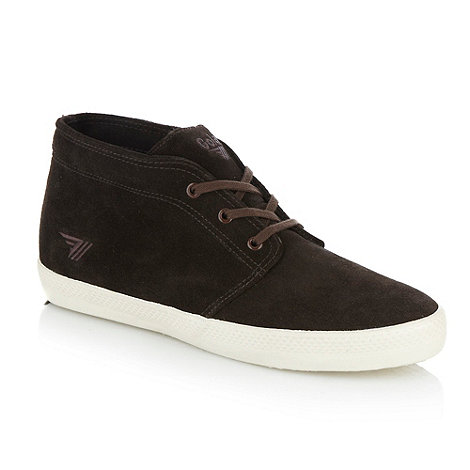 Gola - Brown +Arctic+ high top trainers