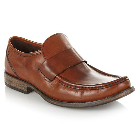 Base London - Tan leather loafers