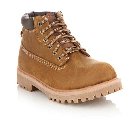 Skechers - Tan +Sergeants Verdict+ boots