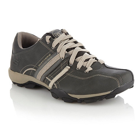 Skechers - Grey +Urban Tread+ trainers