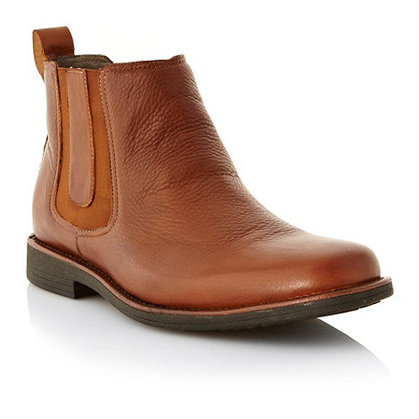 Steptronic - Tan leather chelsea boots