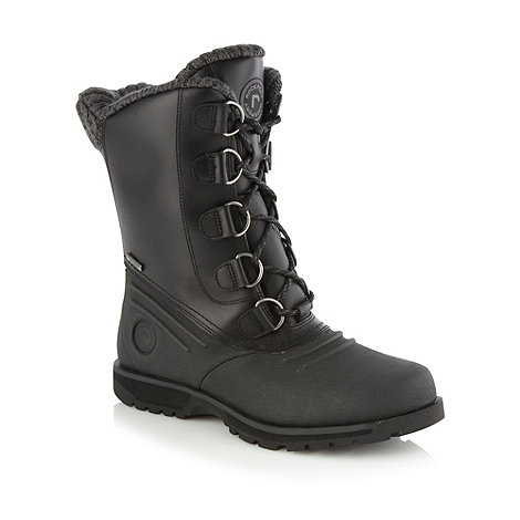 Rockport - Black +Luxury Lodge+ boots