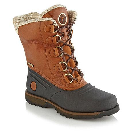 Rockport - Tan +Luxury Lodge+ boots