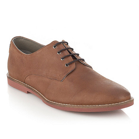 Frank Wright - Tan leather lace up shoes