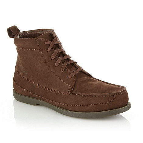 Chatham Marine - Chocolate brown suede boots