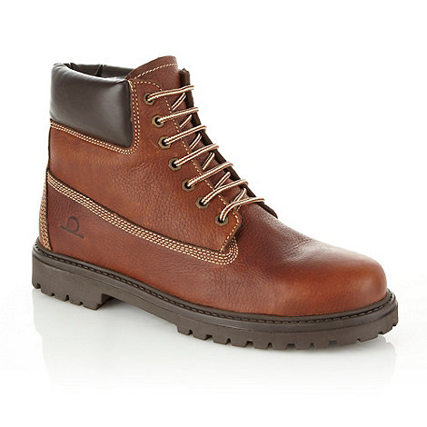 Chatham Marine - Brown padded ankle leather boots
