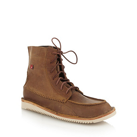 Oliberte - Brown +Windok+ leather boots