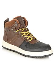 Brown Finerty walking boots