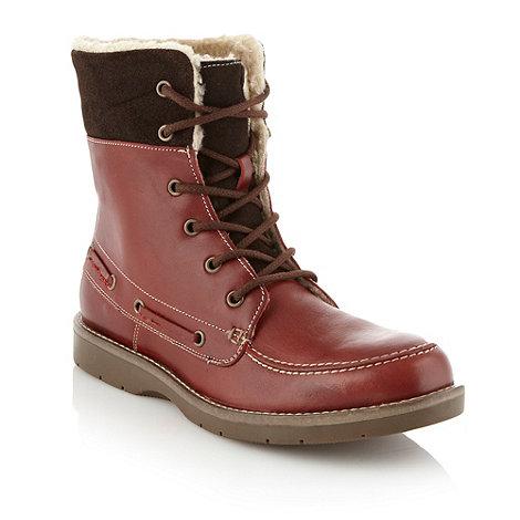 Aldo - Dark red +Pulfer+ boots