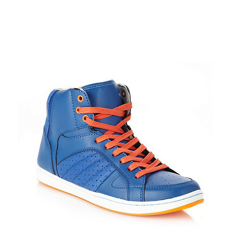 Call It Spring - Bright blue +Enno+ high top trainers