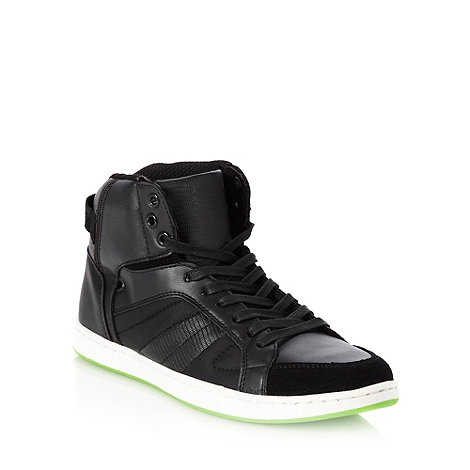 Call It Spring - Black +Enno+ high top trainers