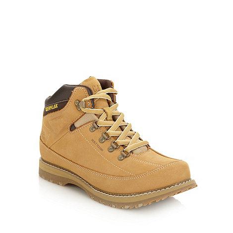 Caterpillar - Tan +Harwick+ suede boots