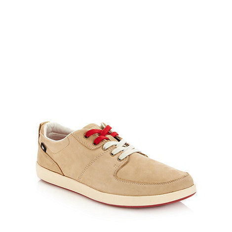 Caterpillar - Beige soft leather shoes
