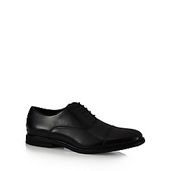 The Collection - Black lace-up Oxford shoes