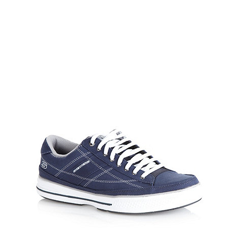Skechers - Navy +Arcade Chat+ trainers