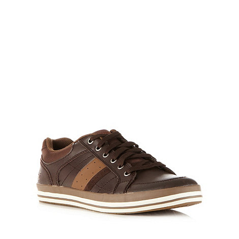 Skechers - Brown +Diamond Back Goden+ trainers
