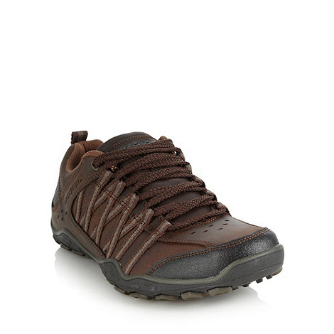 Skechers - Brown +Pebble Faring+ trainers