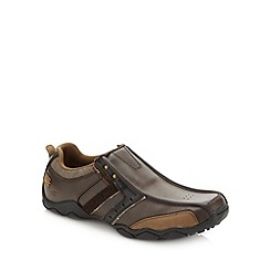 Skechers - Brown 'Diameter Heisman' trainers