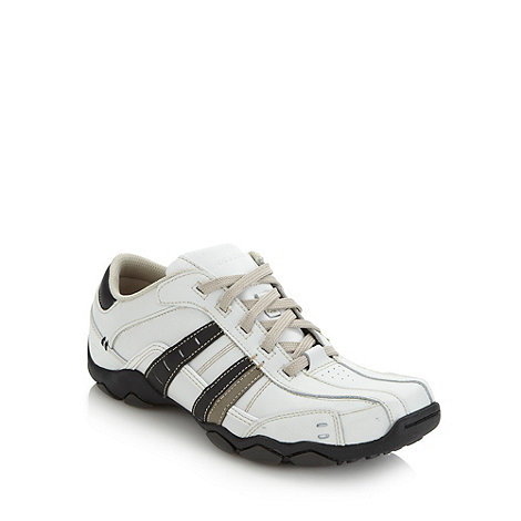 Skechers - White +Diameter Vassal+ trainers