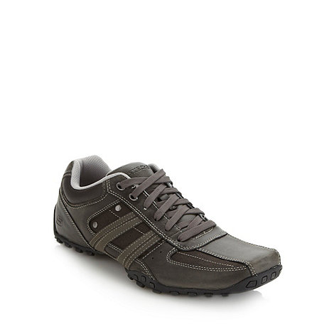 Skechers - Dark grey +Citywalk Trojo+ trainers