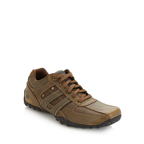 Skechers - Brown +Citywalk Trojo+ trainers