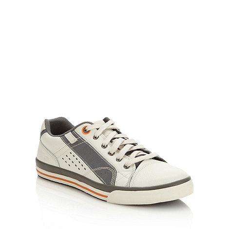 Skechers - Skechers white +Diamondback Tevor+ trainers
