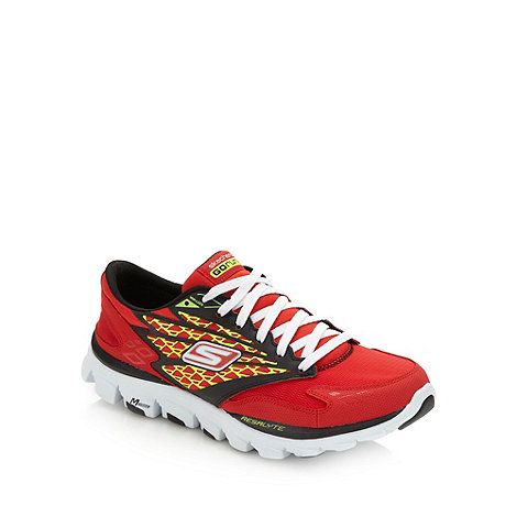 Skechers GOrun - Red +Go Run Ride+ trainers