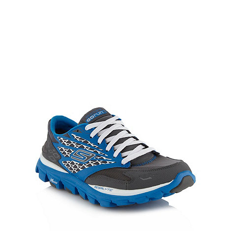 Skechers - Grey +Go Run Ride+ trainers